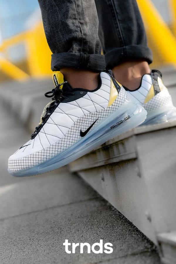Nike Air Mx 720 818 Yellow Ci3871 100 Sneakernews Com In 2020