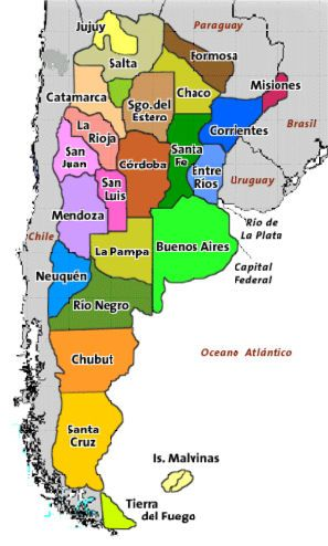 Language These are the twenty three different provinces in
