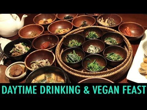 Daytime Drinking & Vegan Food in Korea (KWOW #146)