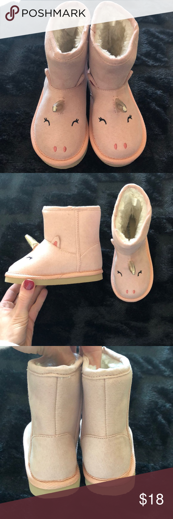 Old Navy Unicorn boots - toddler size 7