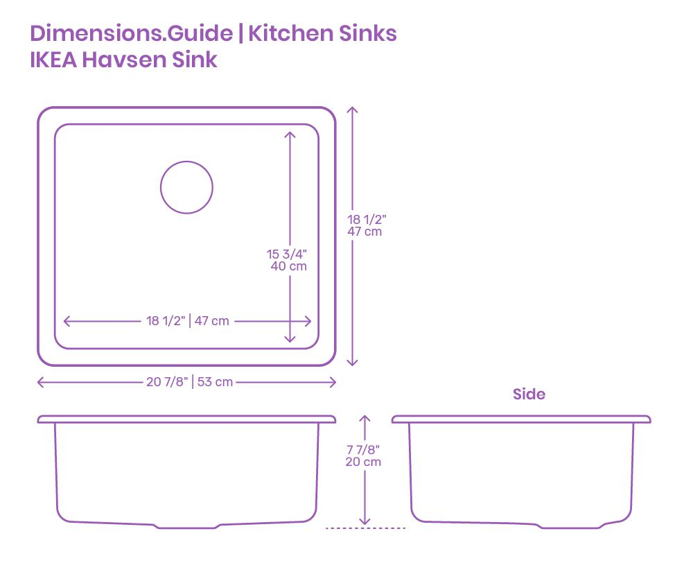 Ikea Havsen Kitchen Sink In 2020 Kitchen Sink Sink Ikea