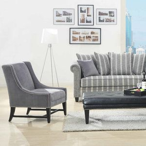 Bundle 75 Emerald Home Furnishings Maddox Chair And Ottoman (3 Pieces)