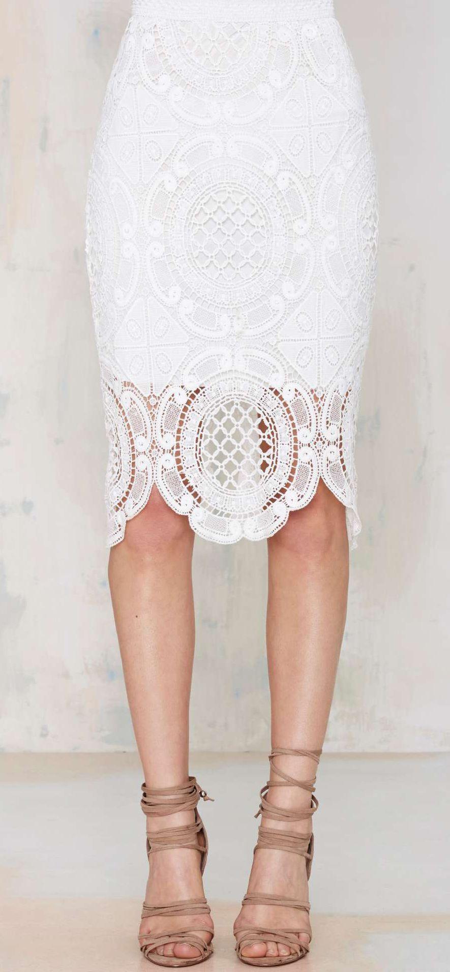 8236c06c110 Lace pencil skirt