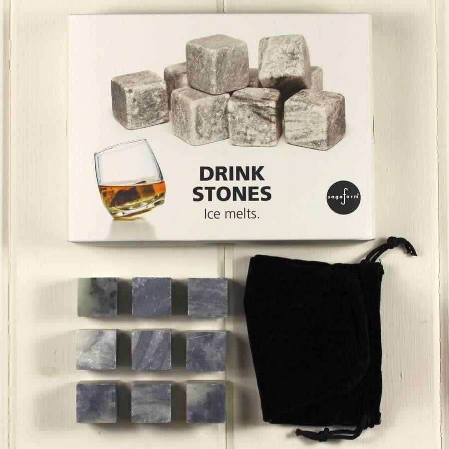 granite whiskey stones by nest   notonthehighstreet.com