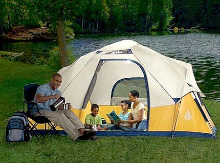 Solar Powered Tent Designer c&ing for c&ers who like their creature comforts this trendy & Solar Powered Tent: Designer camping for campers who like their ...