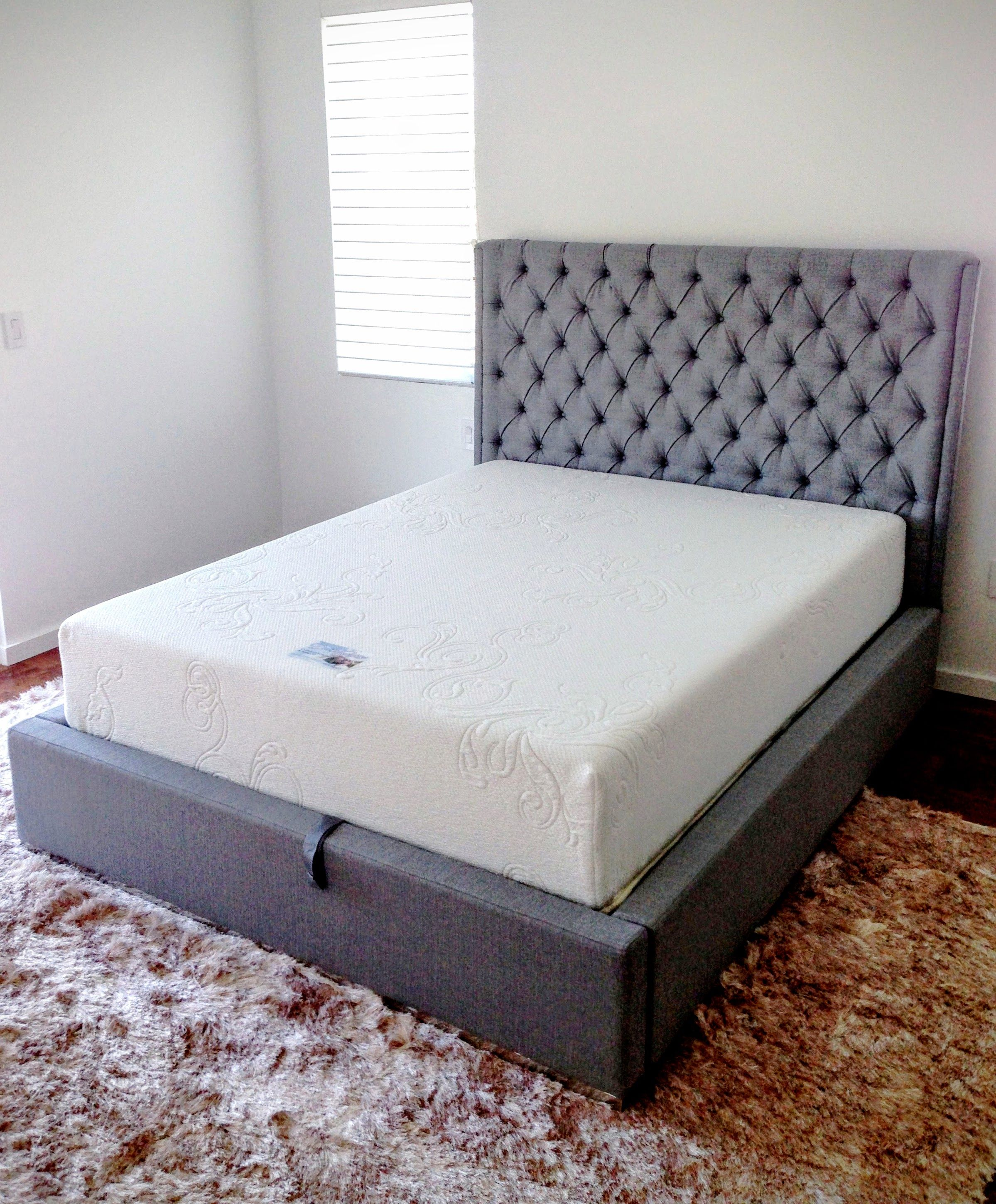 custom made cool gel memory foam mattress www comfortcustombedding