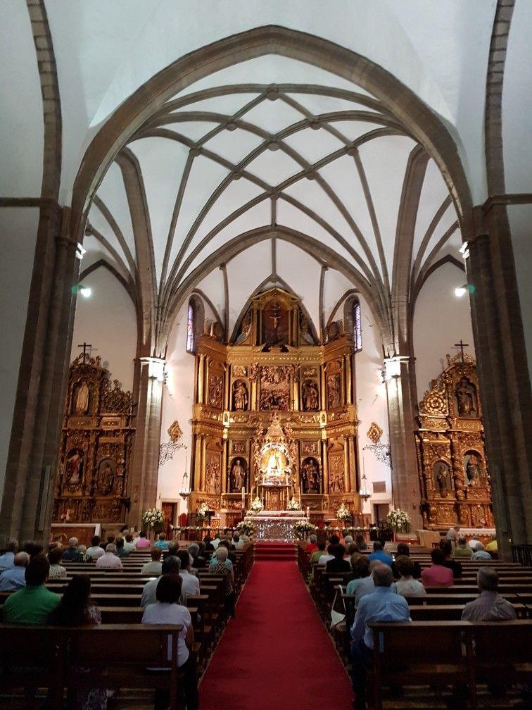 Interior Basilica Nuestra Sra De La Encina Ponferrada Iglesias Y