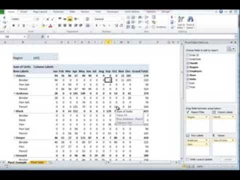 Advanced Pivot Tables - Round 2 from Excel Exposure on Vimeo