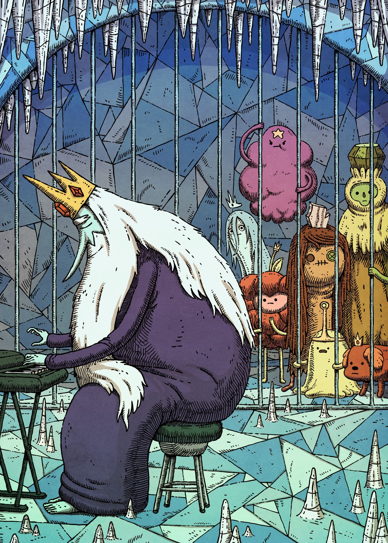 King of OOO (With images) Adventure time anime