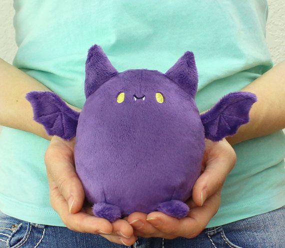PDF sewing pattern - Pudgy Bat halloween kawaii plushie - cute easy ...