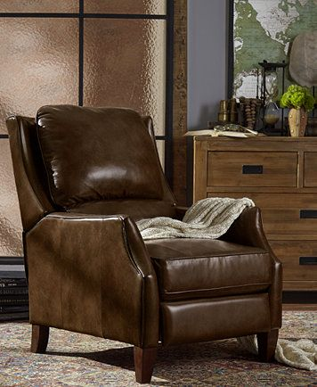 Narmer Leather Push Back Recliner | macys.com & Narmer Leather Push Back Recliner | macys.com | Home is where the ... islam-shia.org