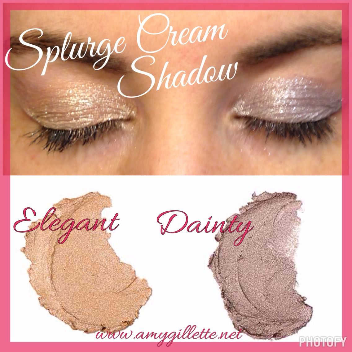 Younique Splurge Cream Shadow www.youniqueproducts.com/StellaGolding