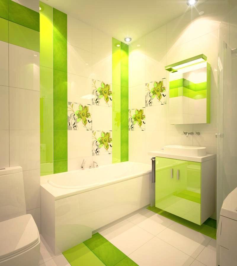 Зеленая ванная комната (44 фото) экостиль Зеленые