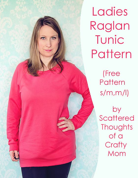 a3f1b7bb0 Sew a ladies Raglan top with this free pattern! | Sewing Projects ...