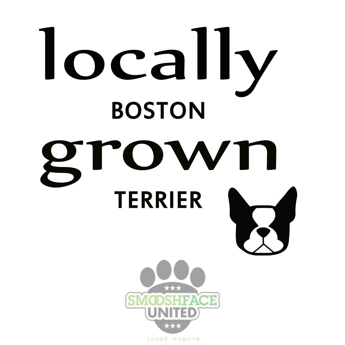 Boston Terrier Decal Cutout Vinyl Sticker Locally Grown Boston Breed Bias Bostonlove By Smooshfaceunited On Etsy Terrier Boston Terrier Vinyl Sticker