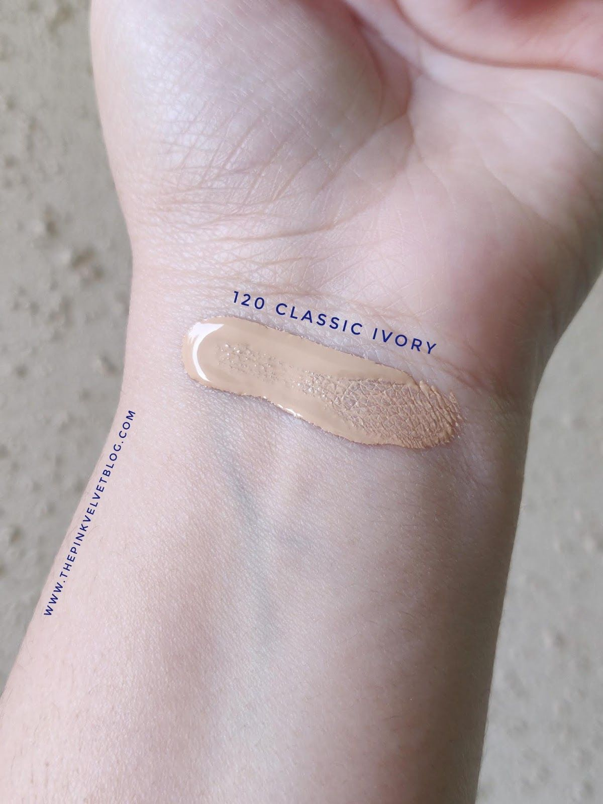 Maybelline fit me foundation 120 classic ivory review