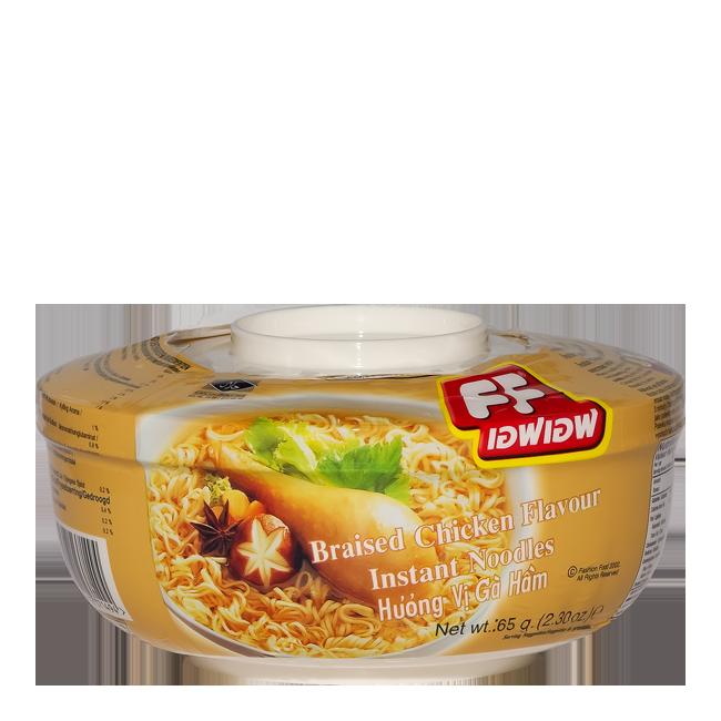 FF Cup Noodles Braised Chicken Flavour  Kiparoma van FF is een product uit Thailand en heeft een inhoud van 85 gr. De Kiparoma ramen noedels is perfect voor verschillende Aziatische gerechten!KiparomaKiparoma van FF is een product uit Thailand en heeft een inhoud van 85 gr. De Kiparoma ramen noedels is perfect voor verschillende Aziatische gerechten!Fabrikant: FFEen zeer populaire fabrikant met heel veel goede producten. QRtoko.nl werkt samen met de beste leveranciers en groothandels van…