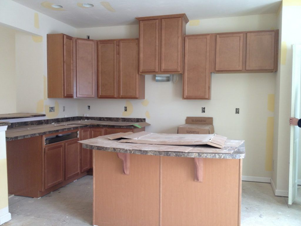 Fairfield Maple Cabinets Fairfield Maple Spice Cabinets And Jamocha Counter Tops Cabinets Picture Maple Cabinets Vinyl Flooring Kitchen Update Cabinets