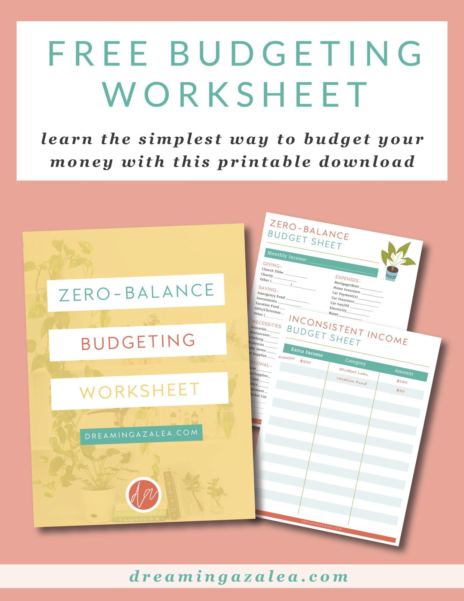 Learn To Budget With This Free Zero Balance Budgeting