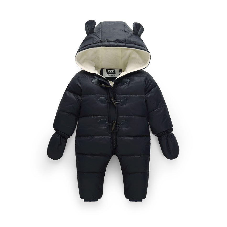 74791fa5e 30 Russian winter baby boy snowsuit 90% duck down infant snow jacket ...