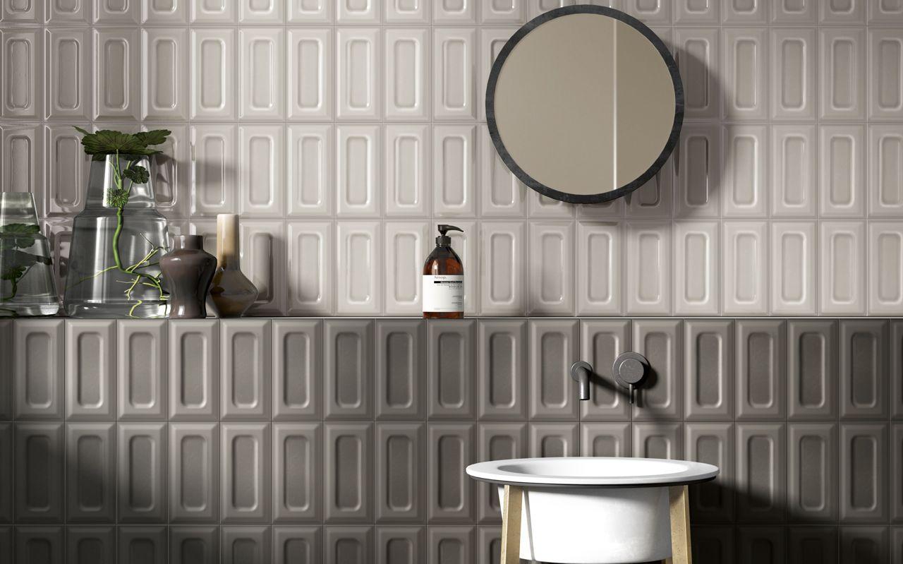 Garden State Tile Optic Wall Tile Collection Wall Tiles Round Mirror Bathroom Ceramic Wall Tiles