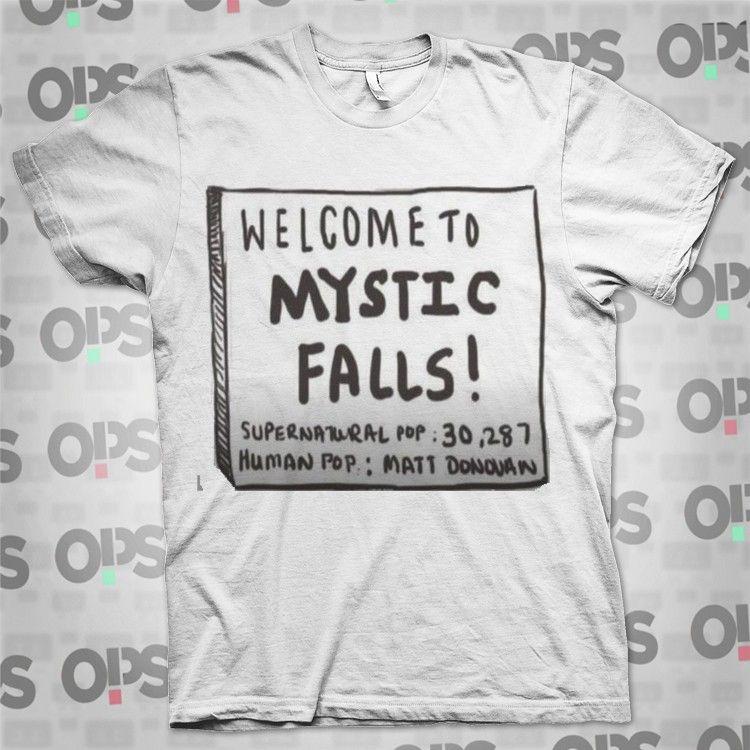 The Vampire Diaries T SHIRTS MYSTIC FALLS