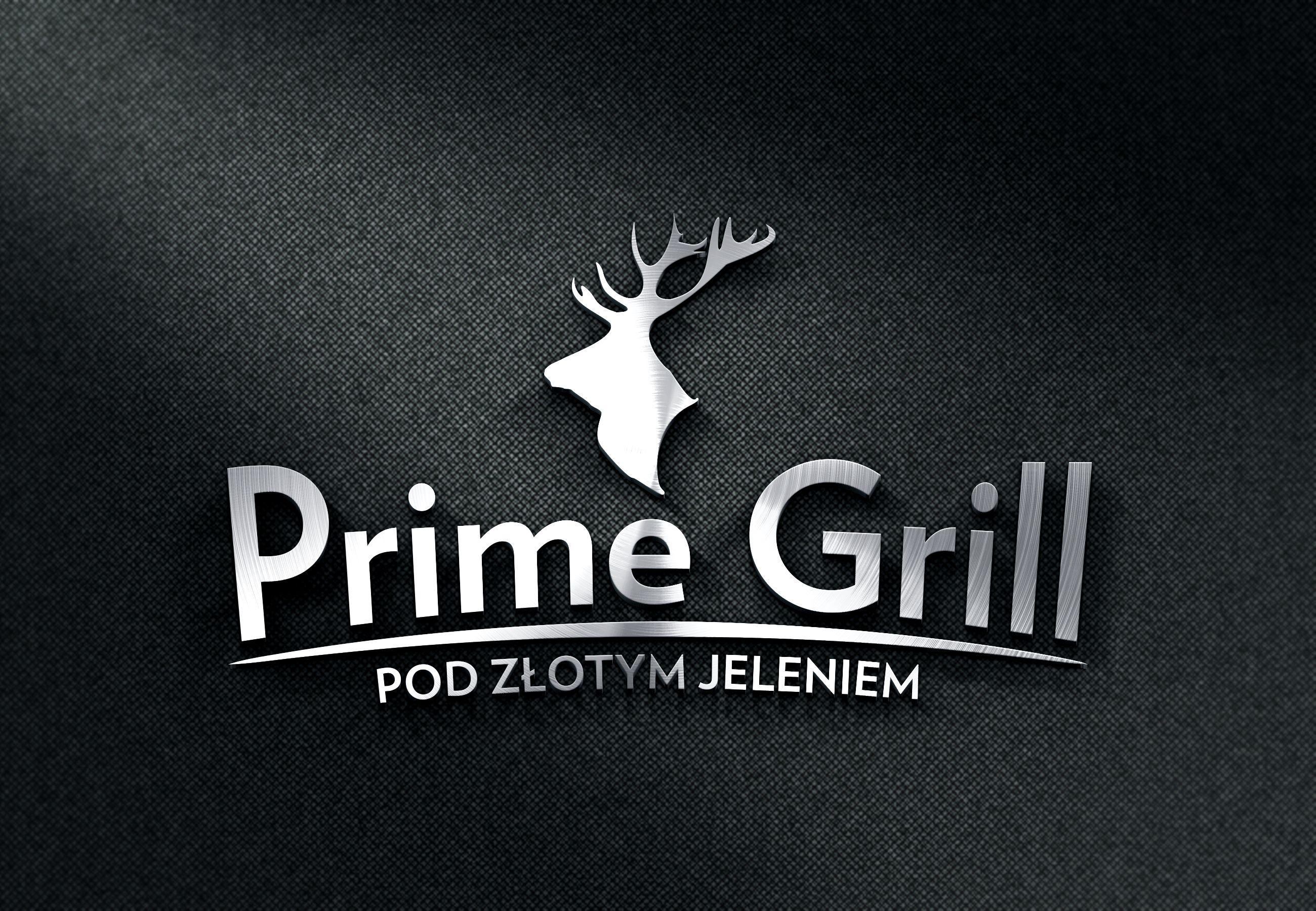 Prime Grill logo Modus design lotype
