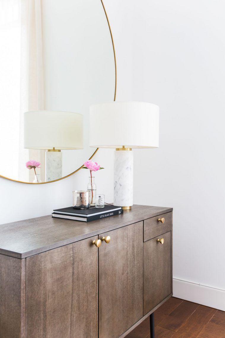 West Elm Marble Pillar Table Lamp Home Blogger Home