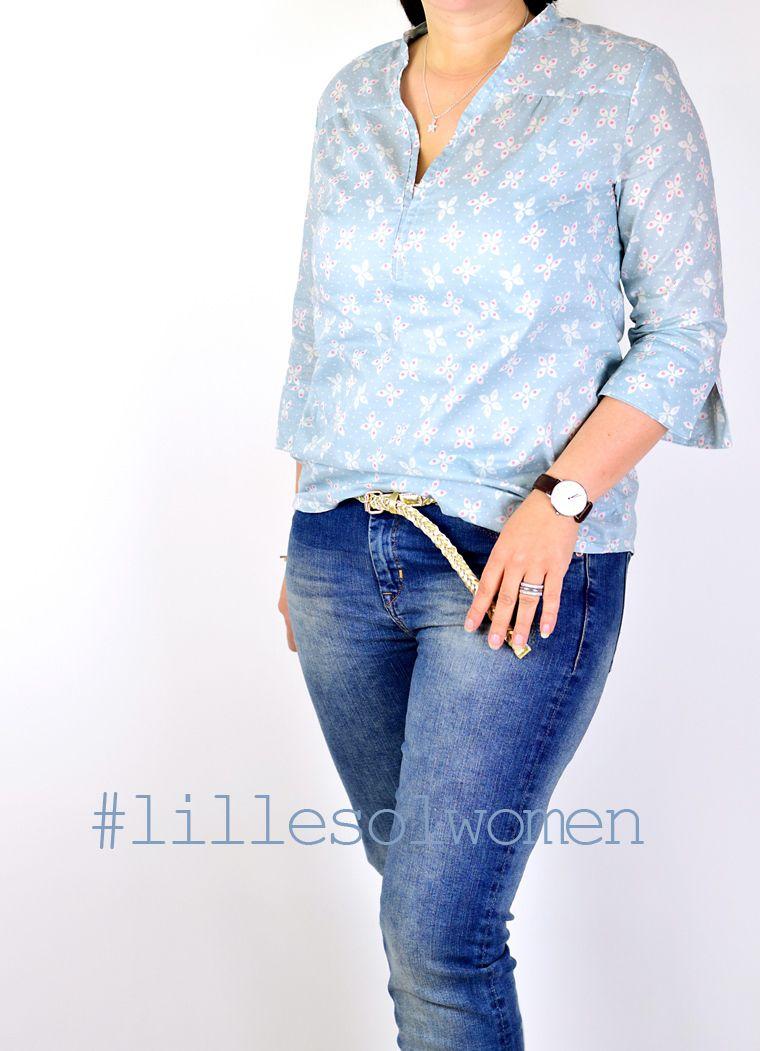 Ebook / Schnittmuster lillesol women No.6 Blusenshirt Webware ...