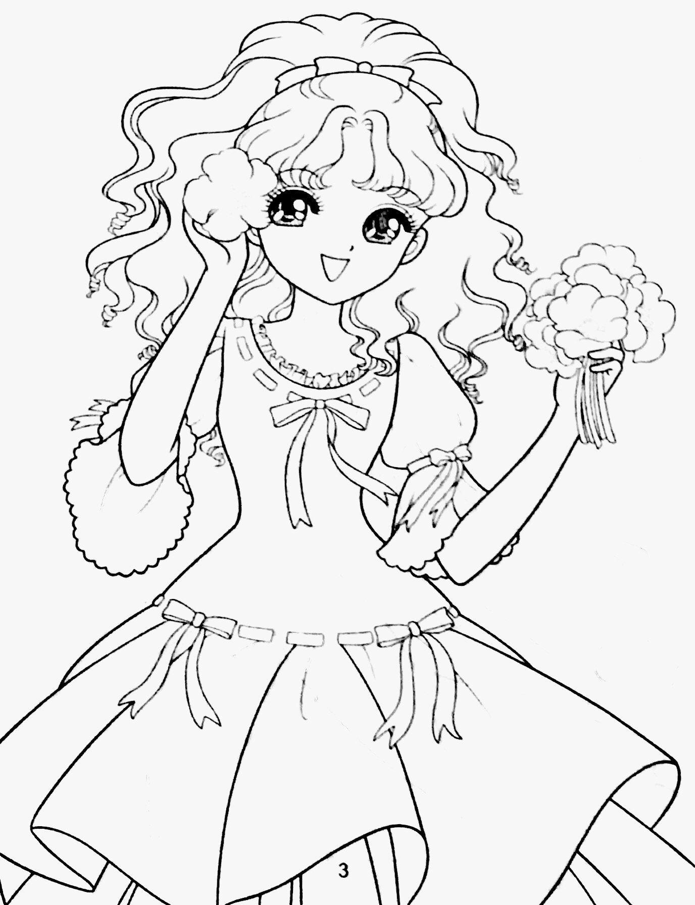 Coloring | Shoujo Coloring | Pinterest | Pergamino, Colorear y Manga