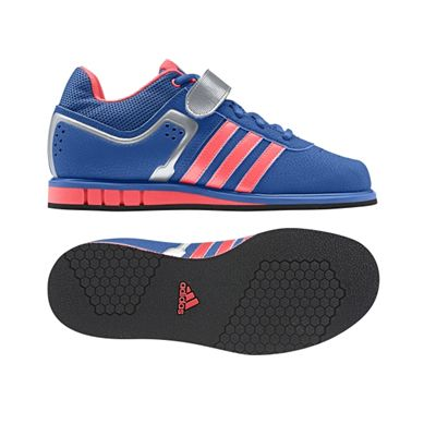 c763f53a6347 adidas Ladies Powerlift 2 Weightlifting Shoe - Blue Pink