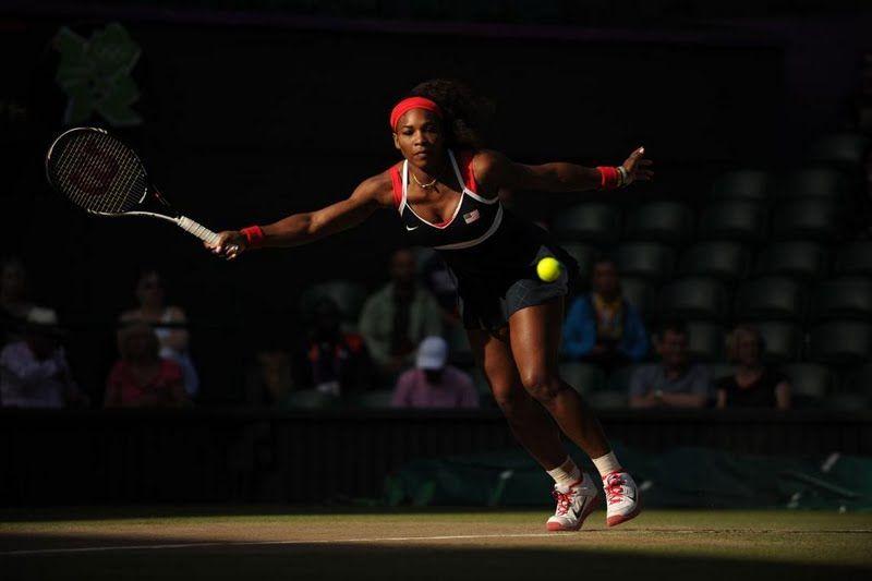 Serena Williams 2012 Olympics Wallpaper