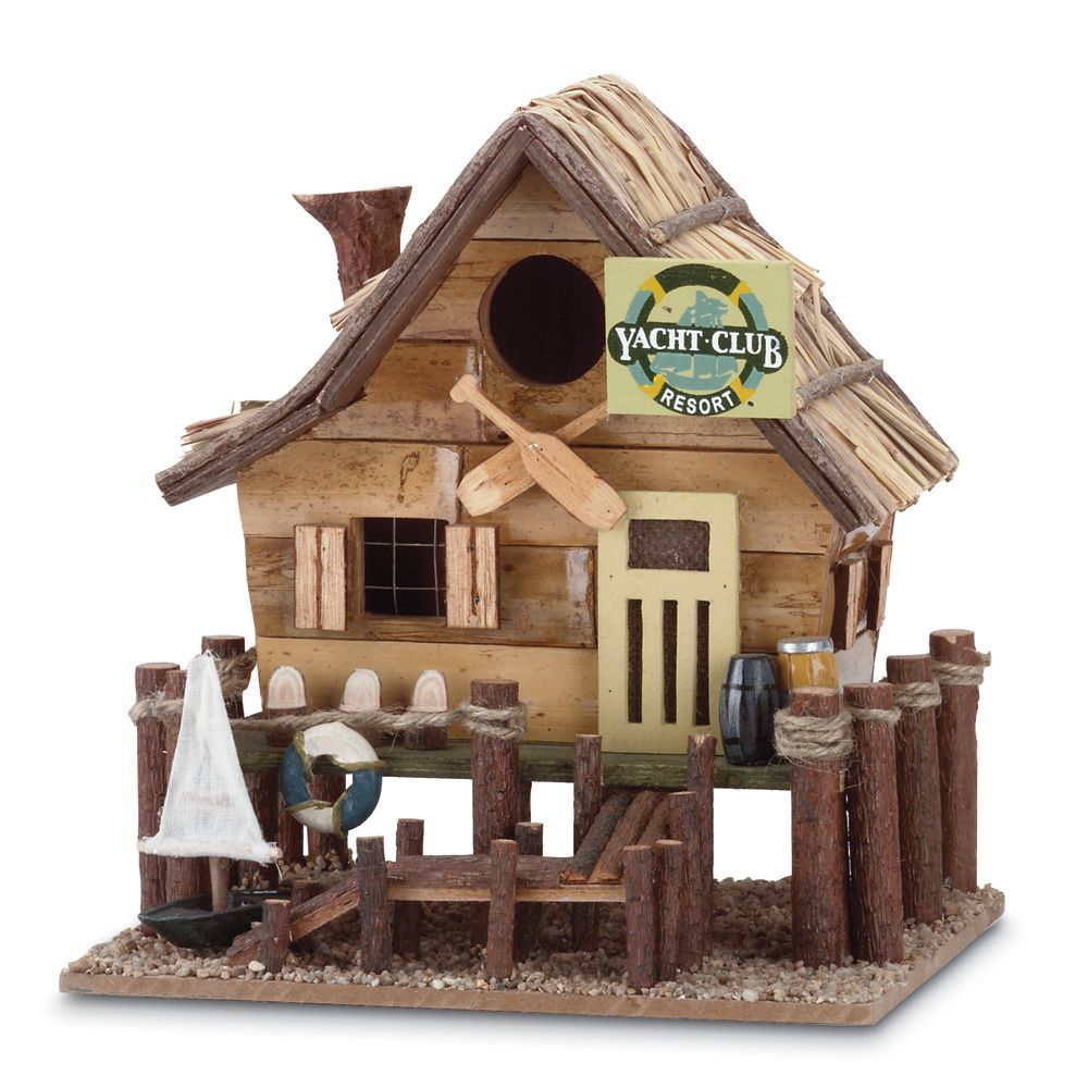 """$15.96 Duo Yacht Club Birdhouse  Free Shipping Always. Use code """"SUMMER"""" to get 15% Off."""