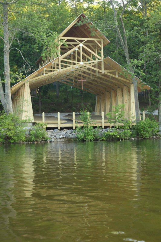 Exposed Wood Trusses | Houzz |Modern Wood Trusses