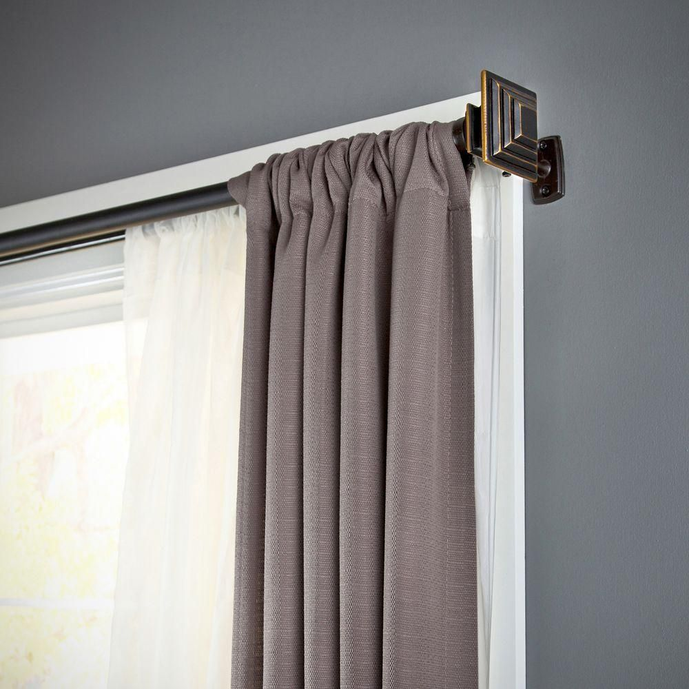 size rod kohler l curtains bronze shaped rubbed curtain shower straight tags oil beautiful rods brushed mod of large nickel chrome contemporary wall