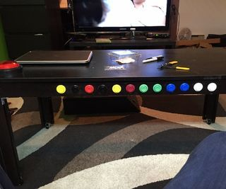 Coffee table TV controller - Hi!So I got this idea a while ago and thought I'd find some similar stuff online, but turns out there aren't a lot of information about that kind of project. A few weeks ago I found the Instructable of a side table remote by russm313, and it was just what I needed to get... | http://wp.me/p5qhzU-dX4 | #DIY #DoItYourself