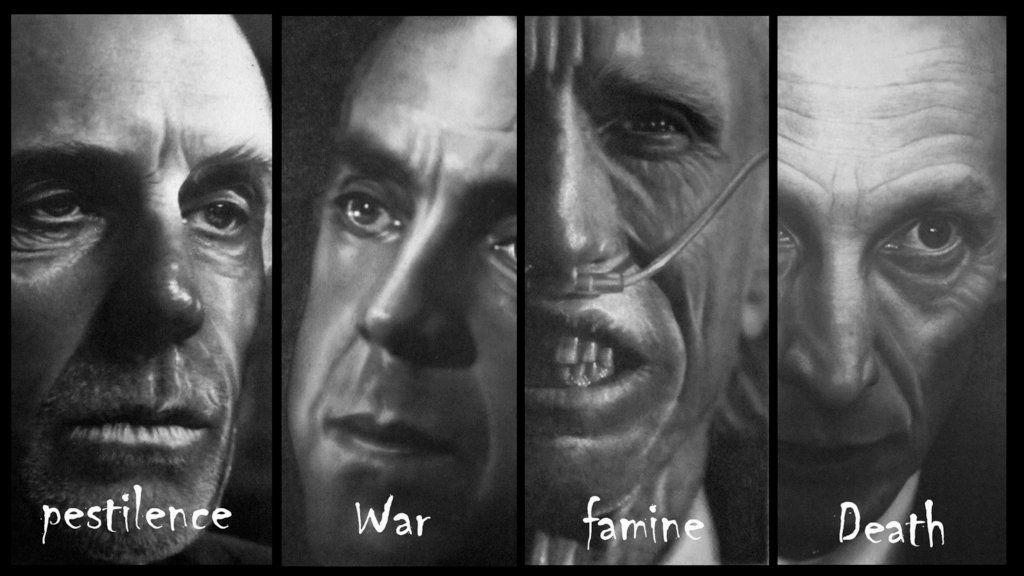 Four horsemen in Supernatural by FredrikEriksson1 on DeviantArt | 0