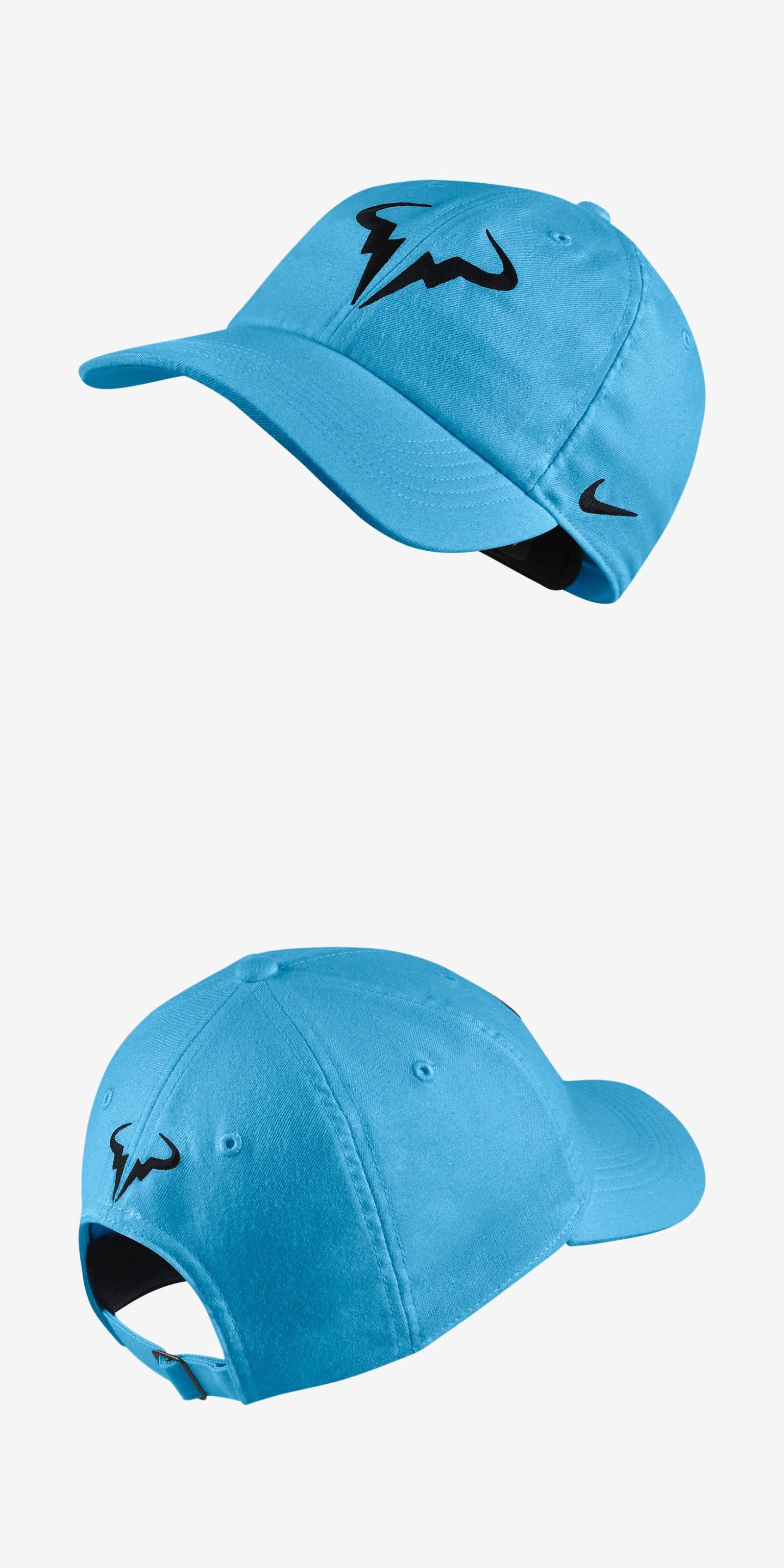 dc77dc9afda Clothing 70898  New Nike Nikecourt Aerobill H86 Rafael Nadal Tennis Hat  Teal Blue French Open -  BUY IT NOW ONLY   29.97 on eBay!