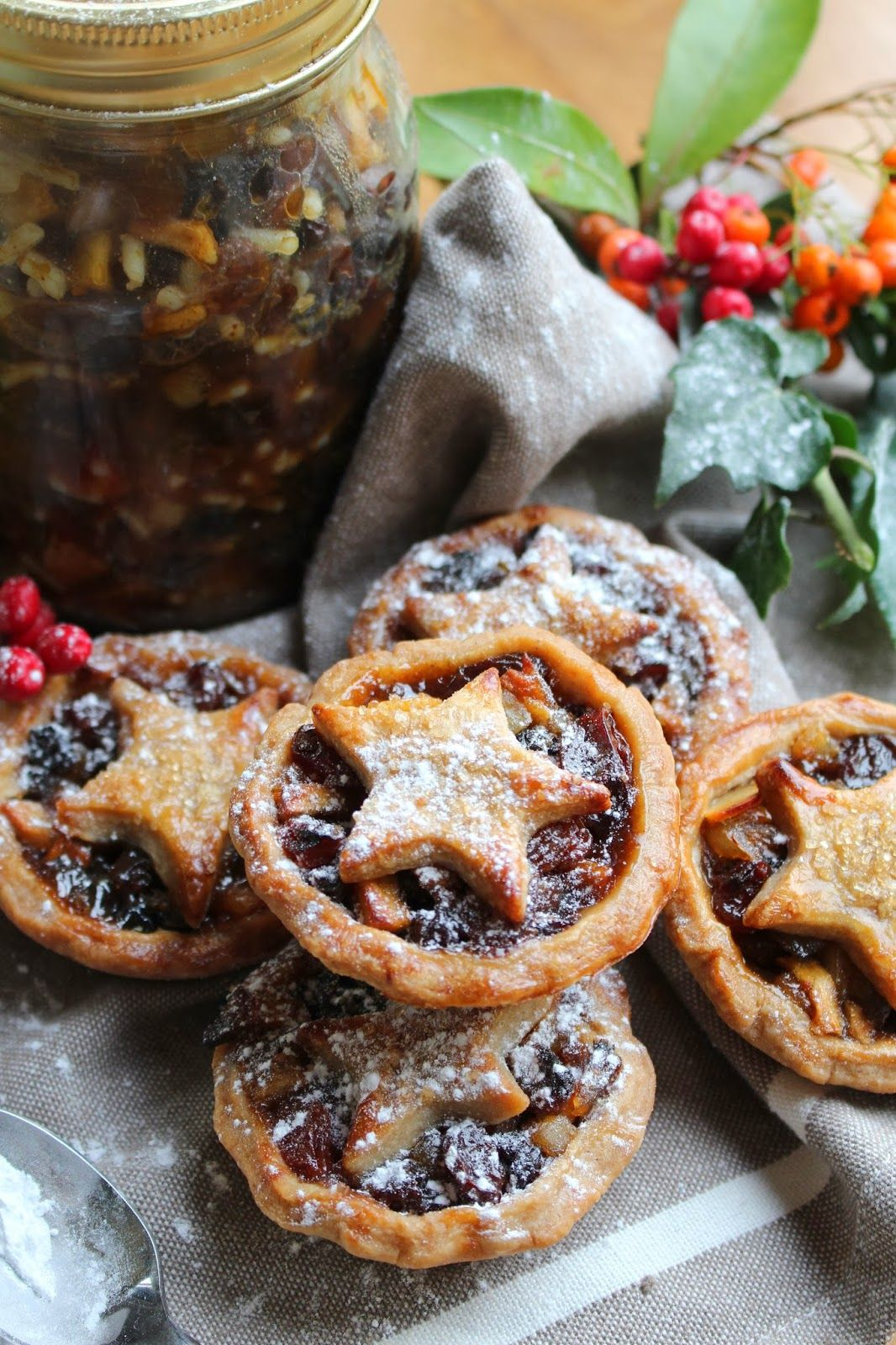 katie's kitchen journal: Gingerbread Spiced Mince Pies
