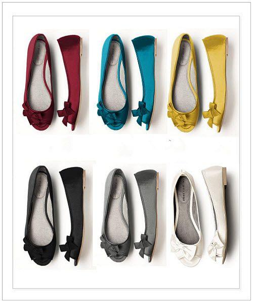 P Toe Satin Ballet Flats Wedding Shoes A Favourite Repin Of Vip
