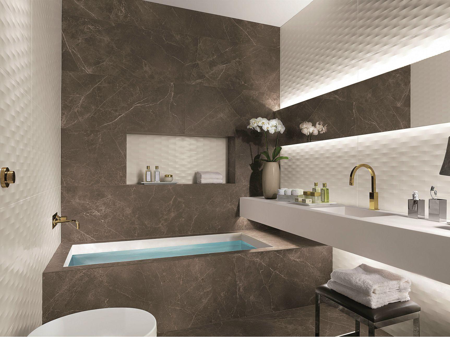 Rivestimento pavimento in gres porcellanato roma by fap - Stampe per bagno ...