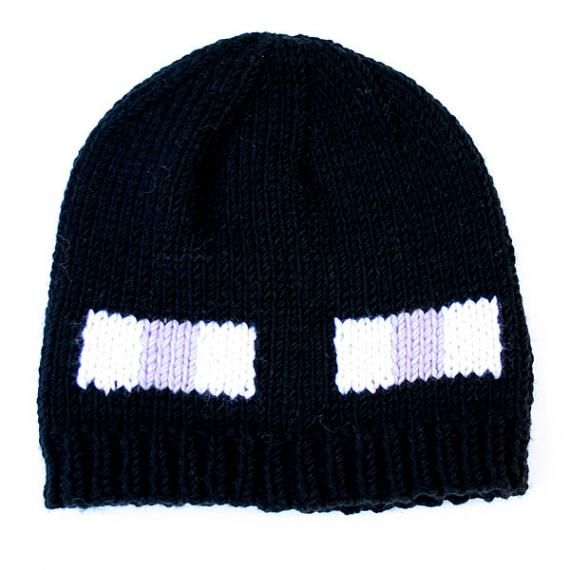 Enderman hat : free pattern at www.knitca.com | crochet | Pinterest