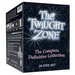 The Twilight Zone: The Complete Definitive Collection $97.50 For the first time ever, find all 156 complete episodes of Rod Serling's groundbreaking series in one box set, packed with exciting extras! Travel to another dimension of sight and sound again and again through these stellar remastered high-definition film transfers. Extras include the fascinating Serling bio-documentary Submitted for Your Approval, compelling interviews with the show's writers, the series' unaired pilot,