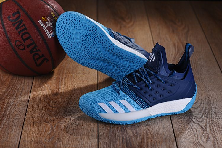 0bafcc108552 adidas Harden Vol. 2 Navy Blue Sky Blue For Sale