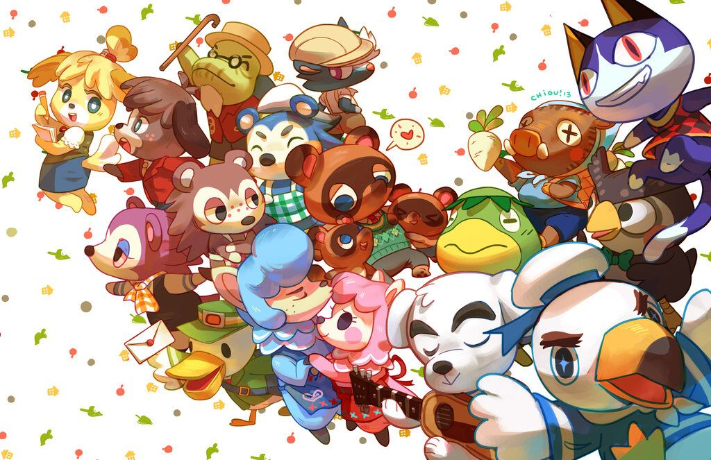 I M In Love With This Wallpaper Animal Crossing Animal Crossing