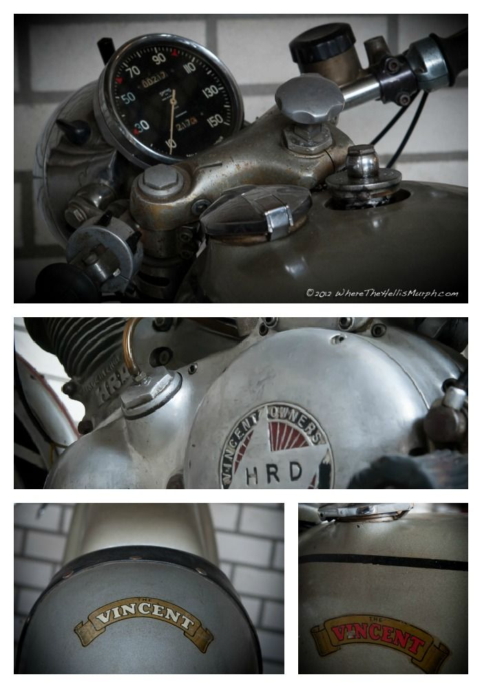 Love this old Vincent #www.motorcyclefederation.com