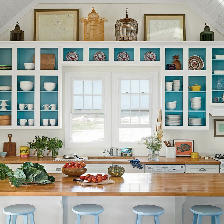 6 tealpainted kitchen 10 most popular