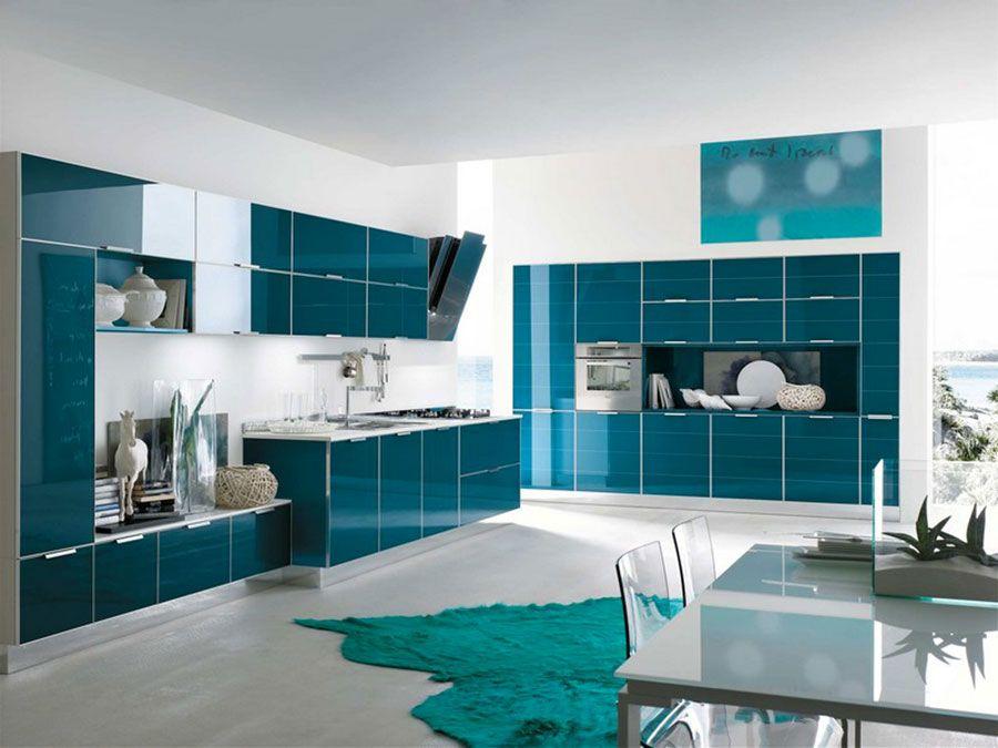 Cucina Verde Petrolio 20 Modelli Di Design A Cui Ispirarsi My