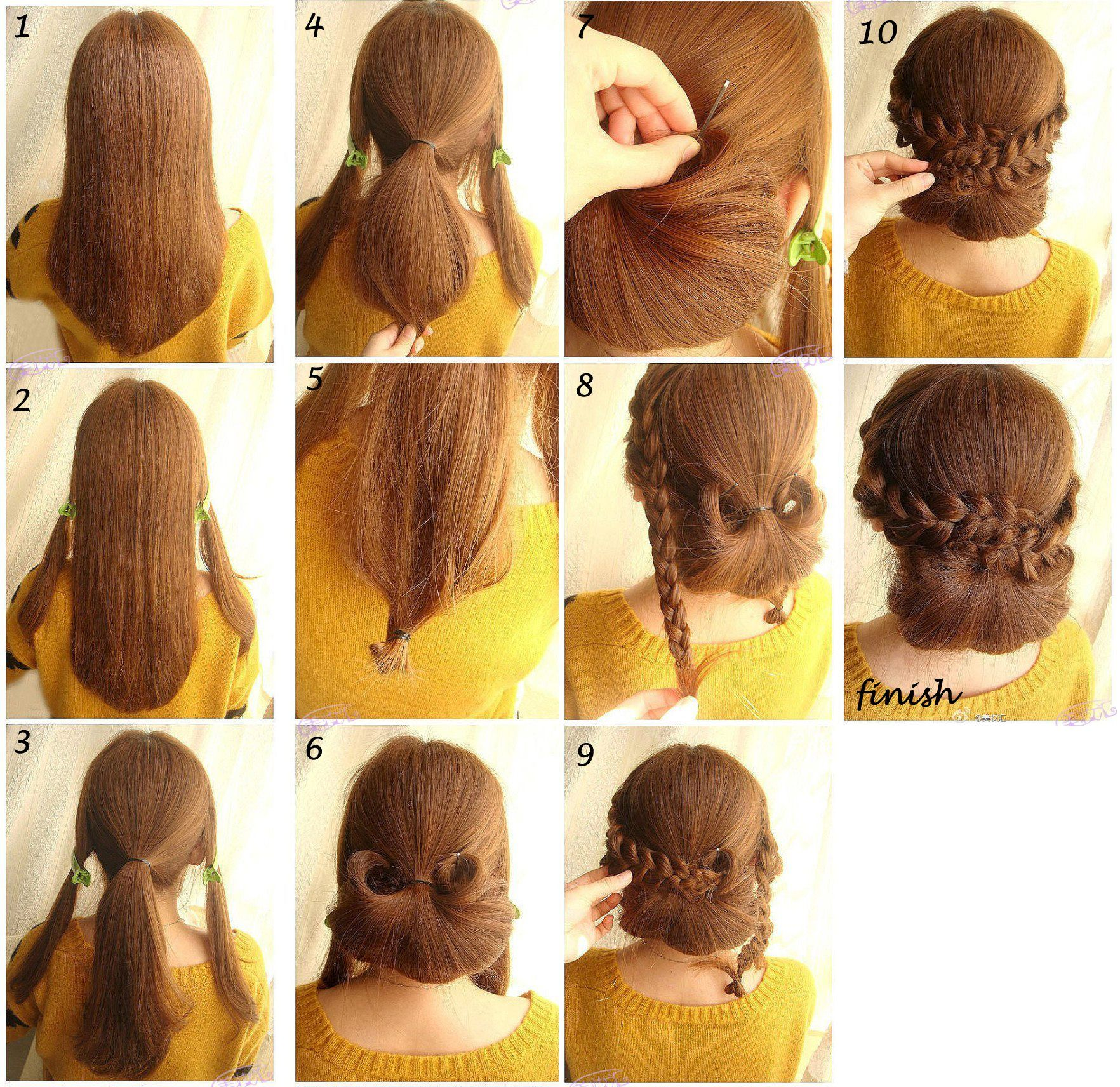 Pin by Areeya Thai on Hairdo hairstyle Pinterest