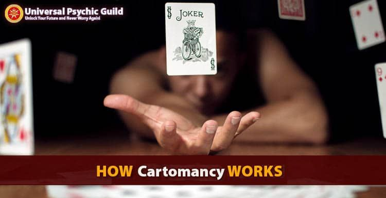 Cartomancy is a type of divination that uses a regular